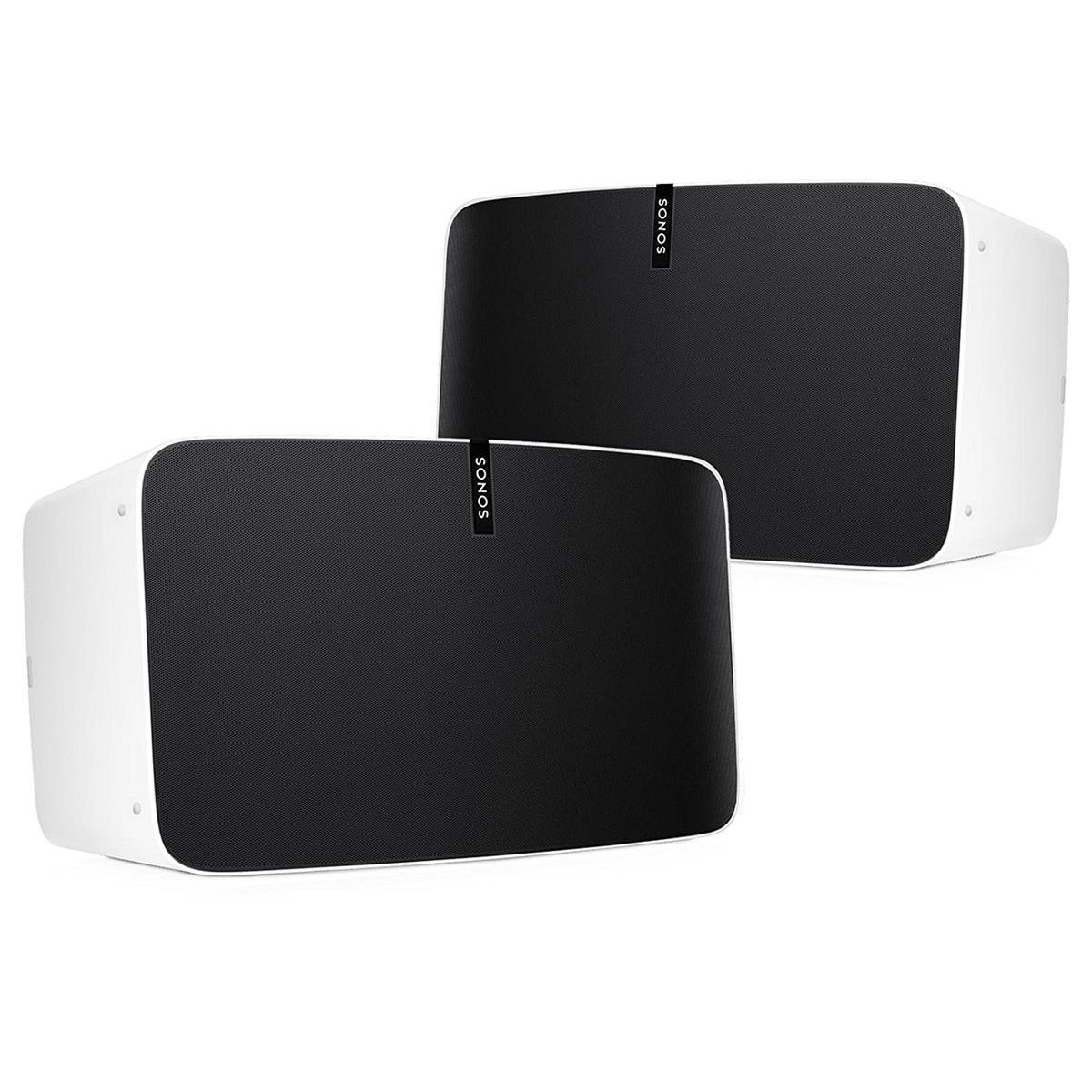 Sonos Play:5 Multi-Room Digital Music System Bundle (2 - Play:5 Speakers) - White