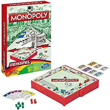 Hasbro Travel Game Monopoly: Amazon.es: Juguetes y juegos