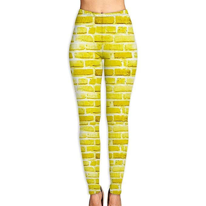 ZKIRESD Brick Yellow Brick Road Repeat Pattern High Waist ...