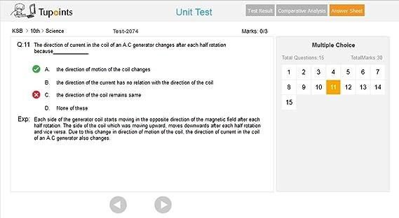 KSB class 10 Science and Mathematics Unit Test (Offline) Karnataka