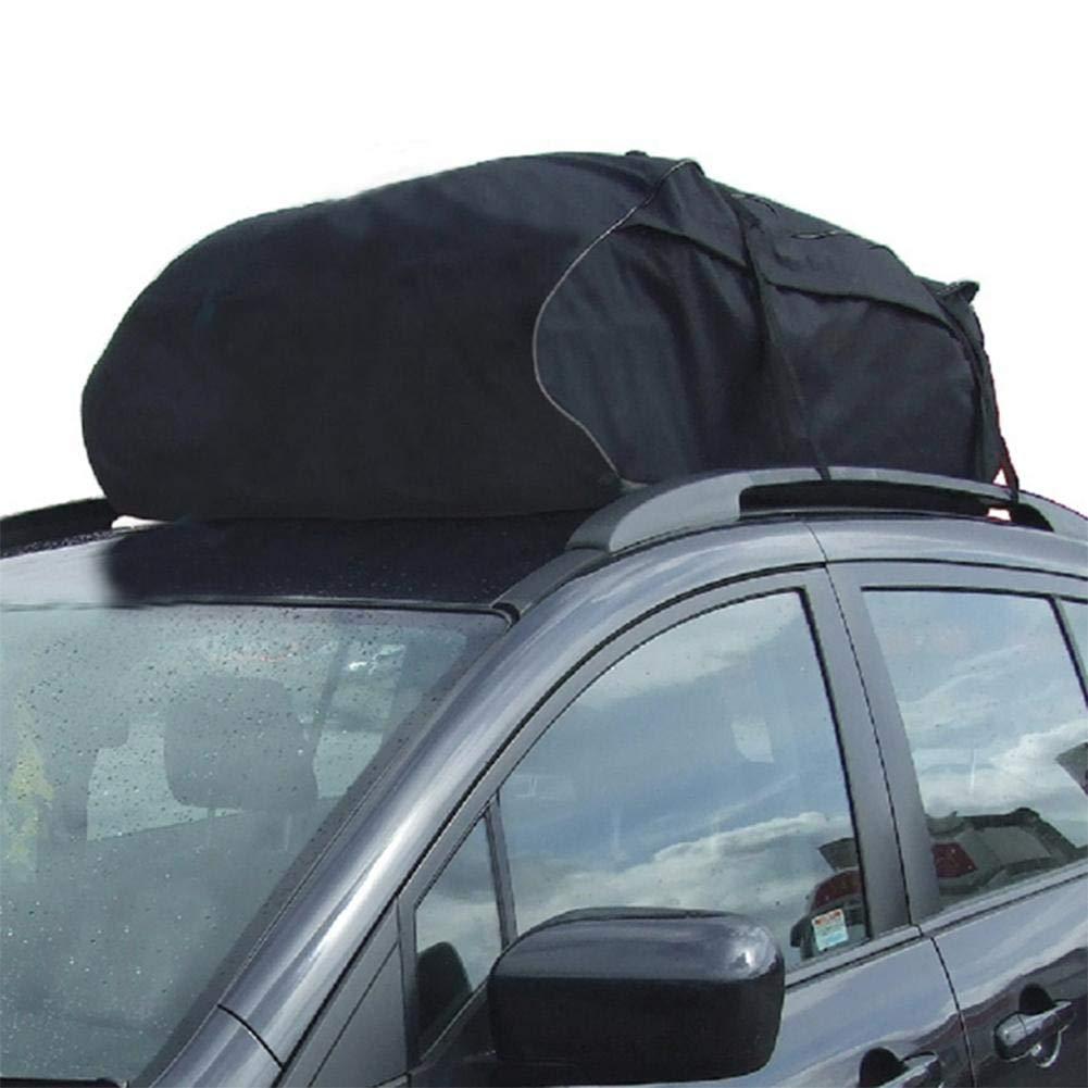 Febelle Support de Toit de Voiture pour Coffre de Transport Noir