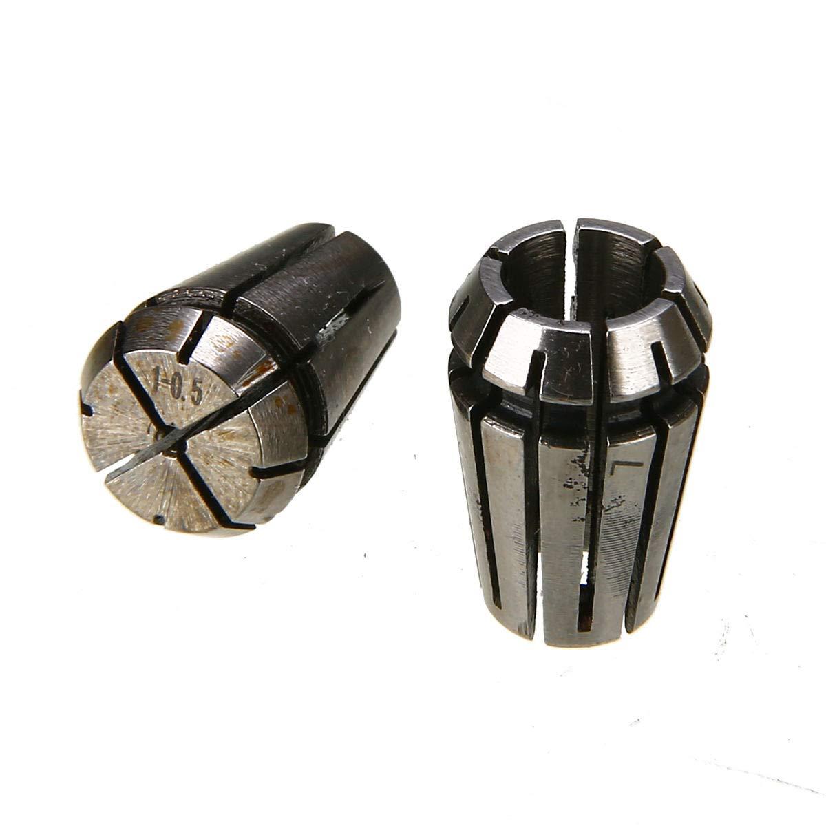 15PCS ER11 Precision Spring Collet For CNC Engraving Machine Milling Lathe Tool