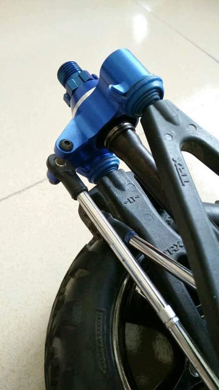 Harden Steel Front or Rear Axle Driveshaft CVD 2pcs for Traxxas 1//10 REVO 2.5 3.3 E-REVO 5451X