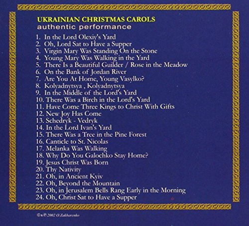 Authentic Ethnic Music Recordings - Ukrainian Christmas Carols And ...
