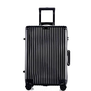Maleta con ruedas para viaje Pc Suitcase Unisex, maleta de equipaje de mano universal para abordar ...