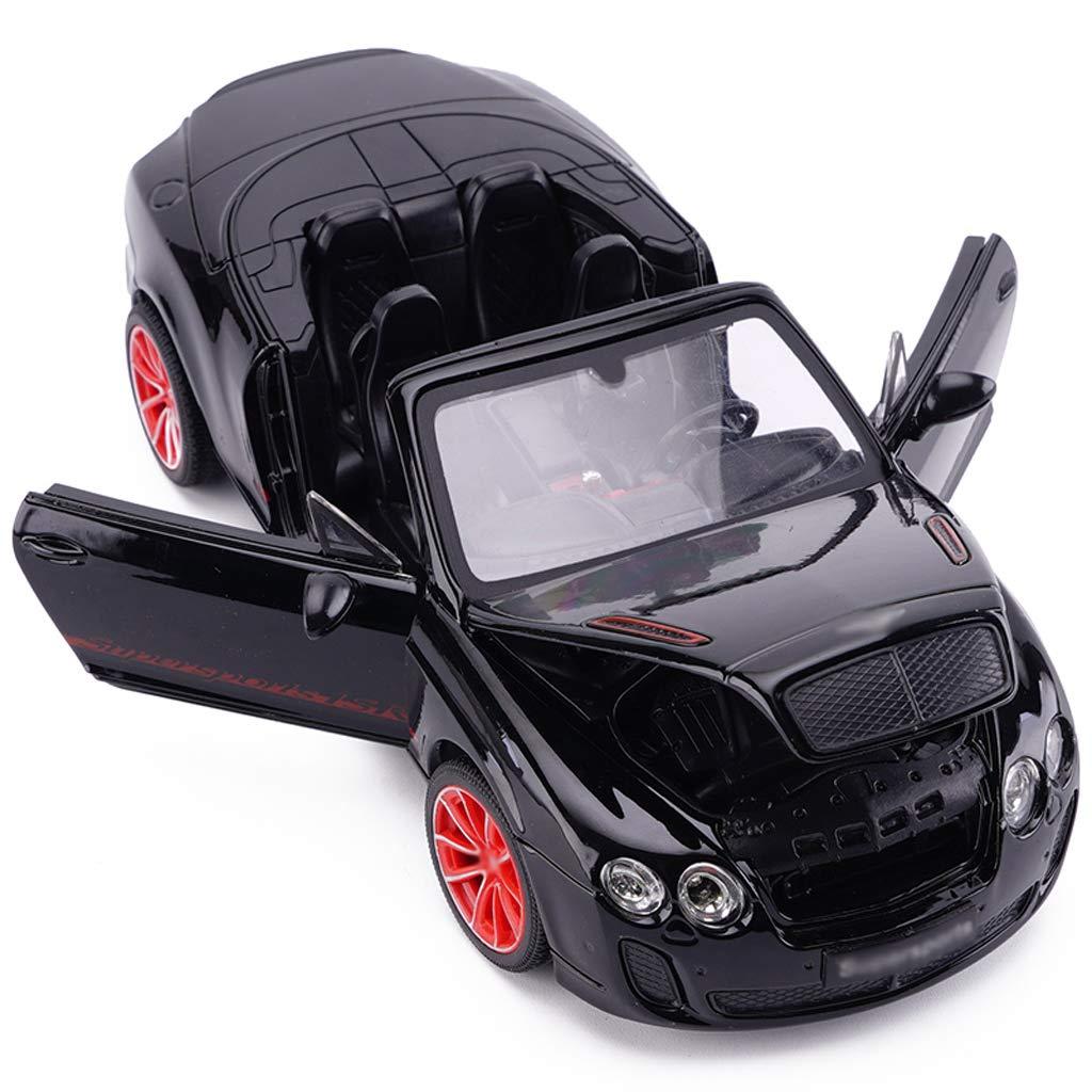 DUWEN-Modello di auto Bentley Continental GT ISR Auto Sportiva Sportiva Sportiva Modello di Auto Giocattolo Modello di Simulazione di Auto Giocattolo Modello di Auto in Lega 1 24 Ornamenti Regalo di Compleanno ac53b6