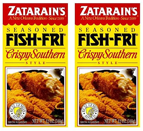 (Zatarains Breading Crispy Fish Fry 12 OZ (Pack of)