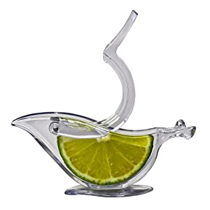 Press Art Lemon & Lime Squeezers - Keeps Seeds From Falling Out - Dishwasher Safe - 1ct Box - Restaurantware