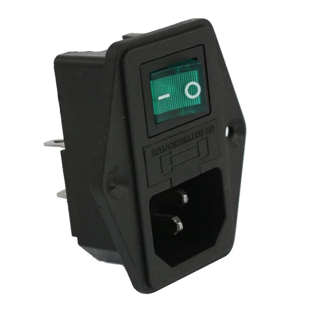 Amazon.com: TOOGOO(R) AC 10A 250V IEC320 C14 Inlet Module Plug Neno Lamp  Boat Switch: Home Improvement