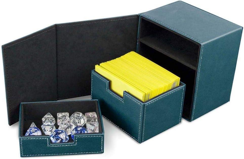 BCW Deck Vault LX 100 Deck Case Blue