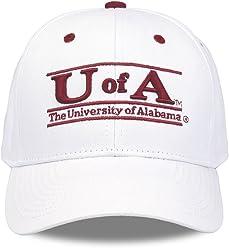 861ff1c191827 Alabama Crimson Tide Adult Game Bar Adjustable Hat - White