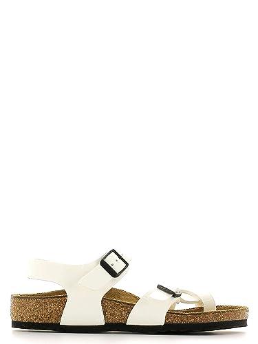 1d56cde8259a98 BIRKENSTOCK - Weiße Sandale aus Ökologischem Leder
