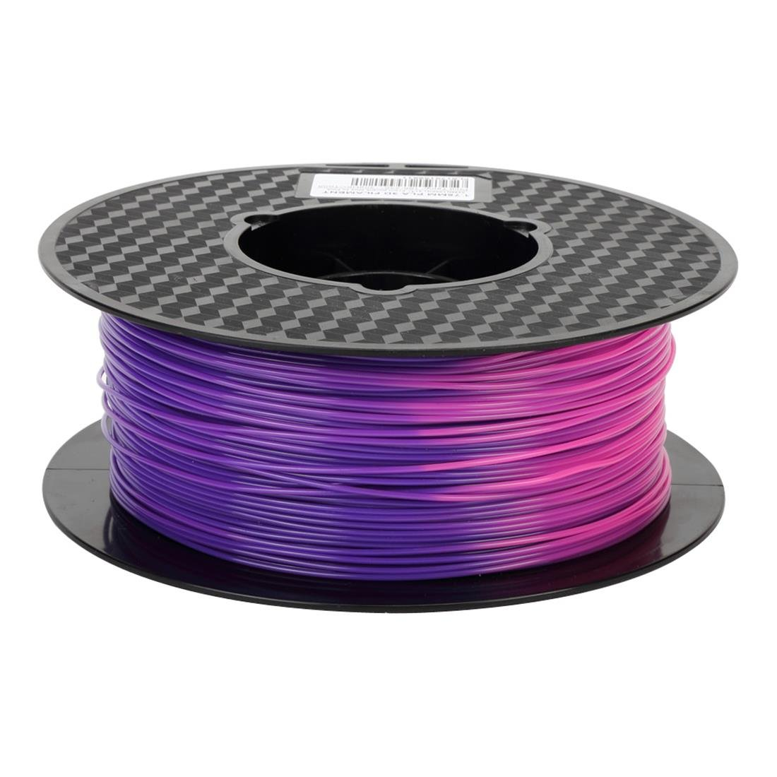 Uniqstore Color Changing with Temperature 3D Printer PLA Filament,From Purple Blue to Pink,1.75 mm, Dimensional Accuracy +/- 0.05 mm, 1KG Spool(2.2LBS), 3D Printing PLA Material