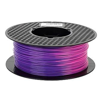 Uniqstore Filamento PLA de impresora 3D de temperatura, de azul ...