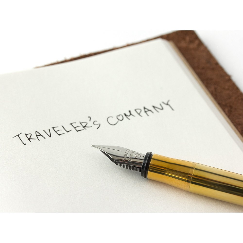 Traveler's company Brass Fountain Pen by Designphil (Image #8)