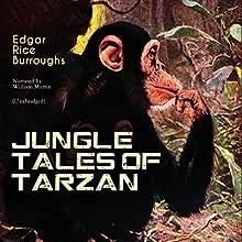 Jungle Tales of Tarzan (Tarzan: Narrated by William Martin 0) Audiobook by Edgar Rice Burroughs Narrated by William Martin
