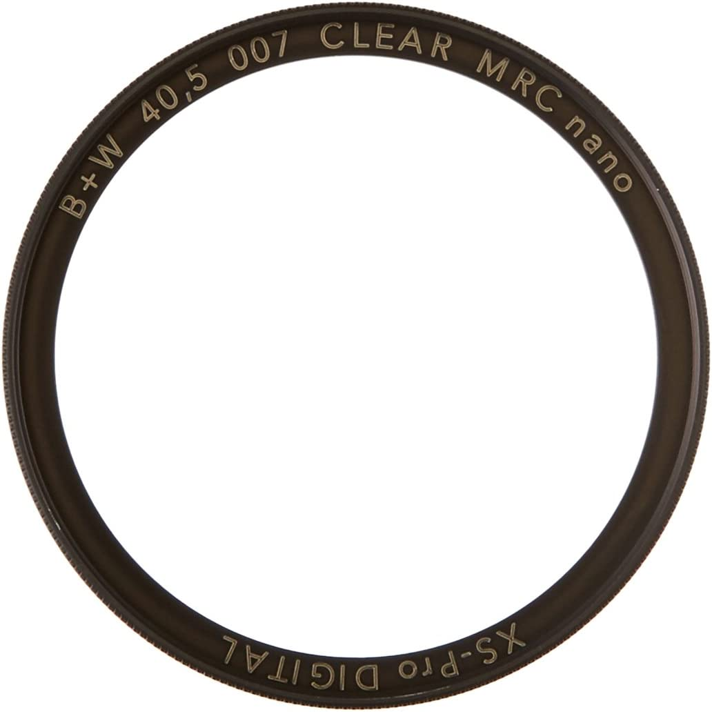 Pure Protection 40.5mm Xs-Pro Camera Lens Filter, 66-1073869 007M B+W Clear