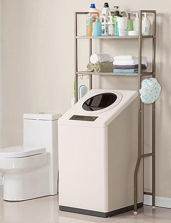 HYDT Racks Badezimmer-Waschmaschine Regal leicht ...