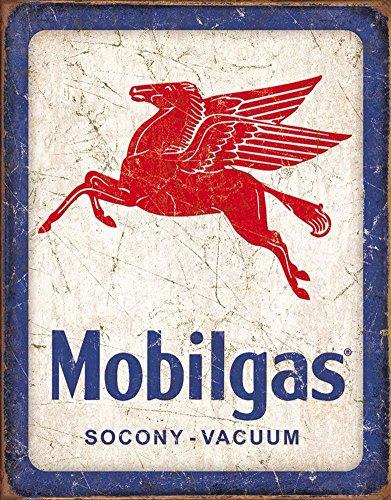 Mobilgas Pegasus Tin Sign 16 x 13in