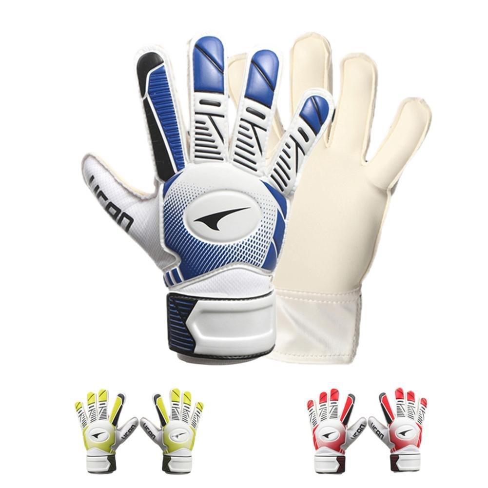 イーチビッドWear ResistingラテックスVentilate安全ゴールキーパーサッカー手袋滑り止め汗デザインファブリック3dステレオクリッピング B07DXP1M88