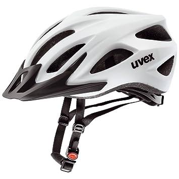 Uvex Viva 2 Casco de Ciclismo, Unisex Adulto, Blanco Mate, 52-57