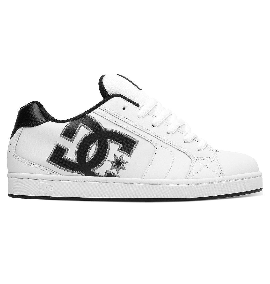 Bianco (blanco Battleship blanco) DC Net zapatos, Hauszapatos para Hombre