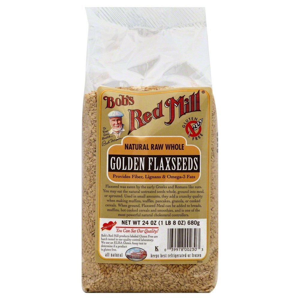 Bobs Red Mill Golden Flaxseed 24.0 OZ(Pack of 3)