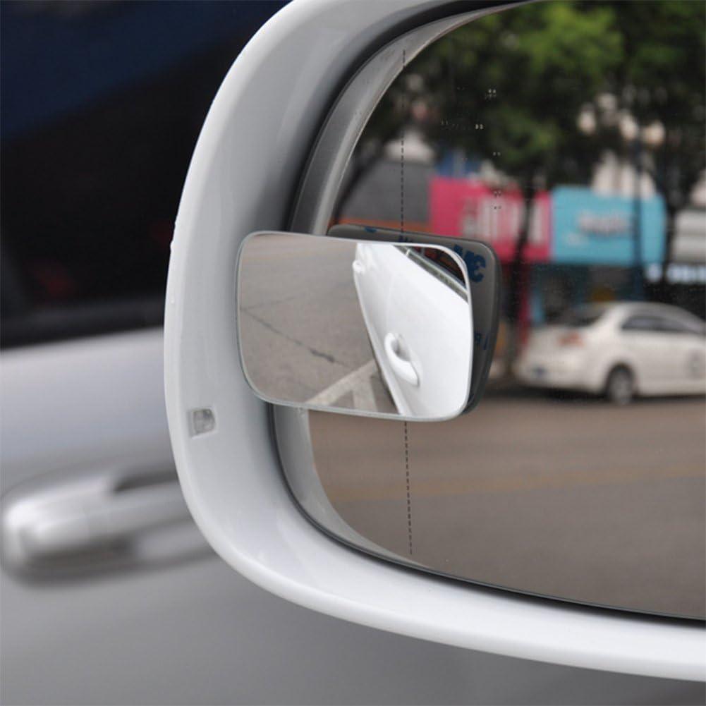 Chytaii Auto Blind Spot Spiegel Rechteck Harz Konvexspiegel Parkplatz Hilfsspiegel Au/ßenspiegel R/ückspiegel KFZ Seitenspiegel 2PCs