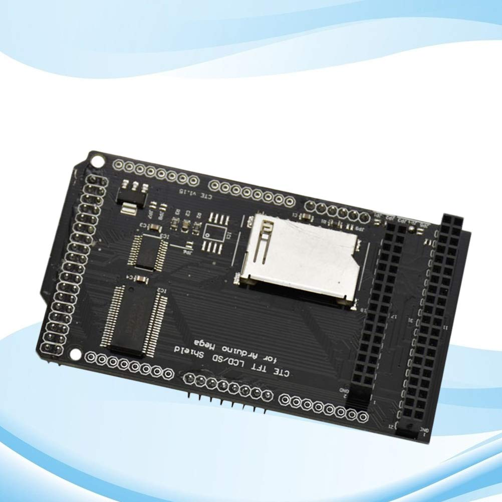Yardwe Tarjeta de expansión TFT/SD Shield para Arduino Mega ...