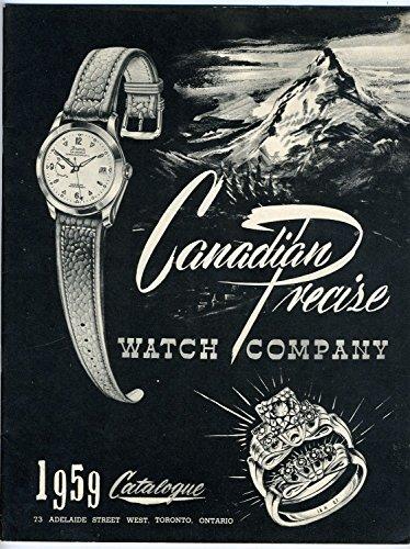 Catalogue Booklet - 1959 Canadian Precise Watch Company Catalogue Toronto Ontario Canada