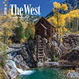 West, The 2018 7 x 7 Inch Monthly Mini Wall Calendar, USA United States of America Scenic Nature (Multilingual Edition)