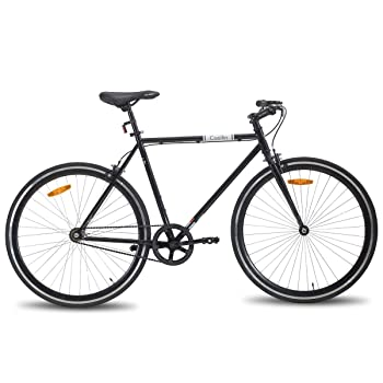 HH Hiland 700C Single Speed Hybrid Bike