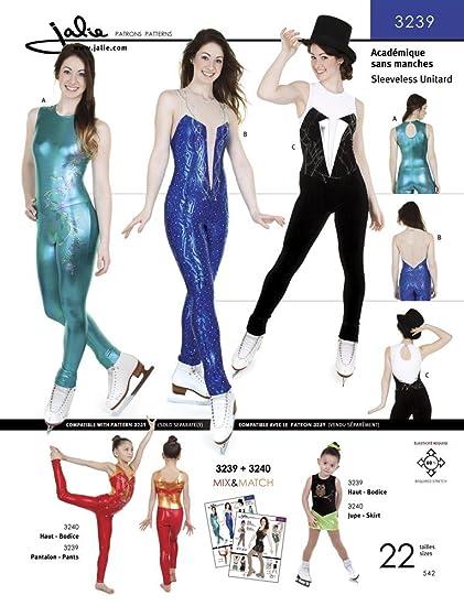 Amazon Jalie Sleeveless Unitard Ice Skating Gymnastics Costume