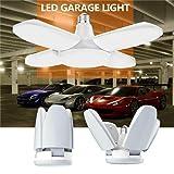 White LED Garage Light, Shop Work Lights Home