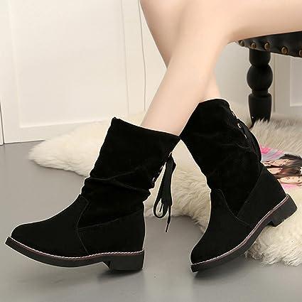 82dd3b78ce7d3 Amazon.com: Hemlock Lace-up Calf Boots Women, Ladies Dress Boots ...