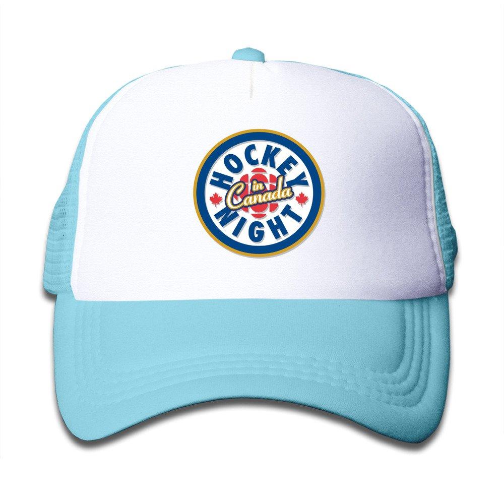 CUG 2016 Hockey Night In Canada Toddler Kids Snapback Adjustable Mesh Hat