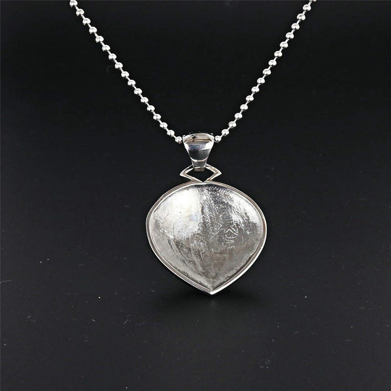 Epinki Stainless Steel Women Necklace Wave Shape Pendant Friendship Necklace