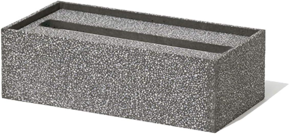 ソイル(Soil) ペーパータオルボックス ブラック 約16×2.5cm B165BK