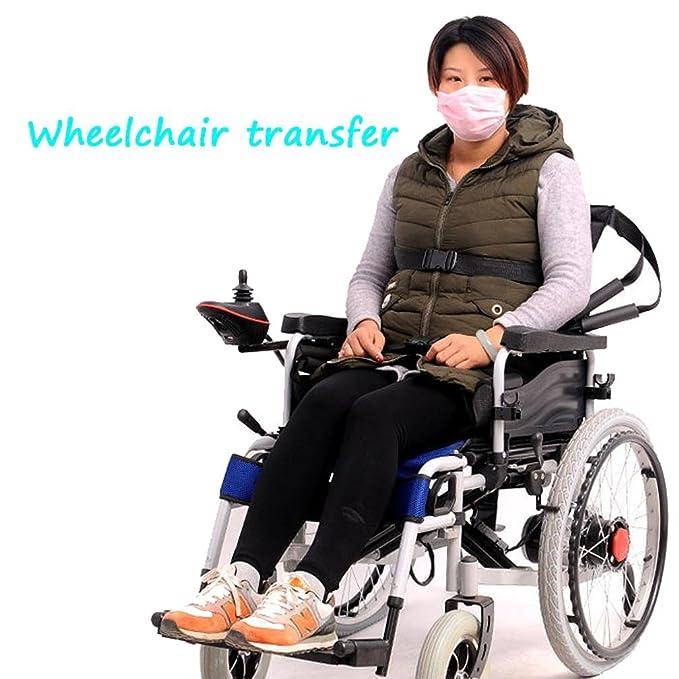 WAOBE Paciente postrado en la cama con parálisis de la extremidad inferior Paleta de transferencia de asiento de la anciana anciana Camilla arriba y abajo ...