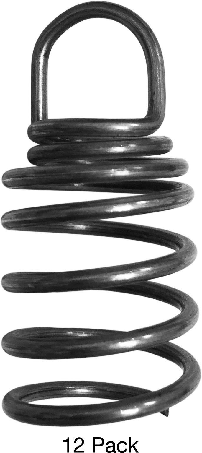 Sonex 39392 1.5 Inch Corkscrew Hangers Standard Steel - 12 Pack