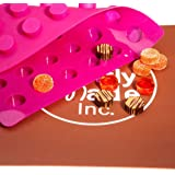 Truffly Made. Cylinder Chocolate Mold - Truffle, Jelly and Candy Mold, 48 cavities, One step candy pop-out