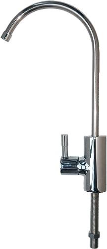 Water Filter Man Ltd Robinet avec filtre Col de cygne Compatible avec tous les syst/èmes de filtre /à eau