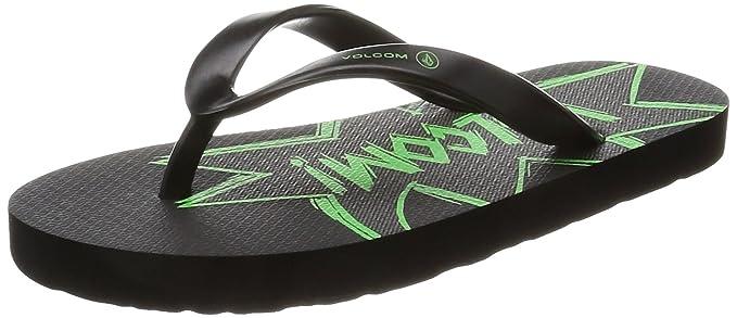 f717321045f8 Amazon.com  Volcom Boys Rocker Youth Sandal Poison Green  Shoes