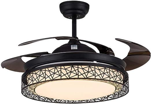 Luz del ventilador Ventilador Nido de pájaro de la manera de techo ...