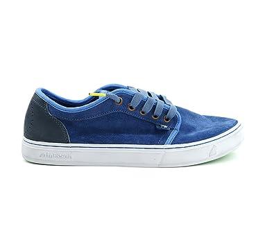 Satorisan - Zapatillas de Piel para hombre azul Saxony Blue, color azul, talla 44