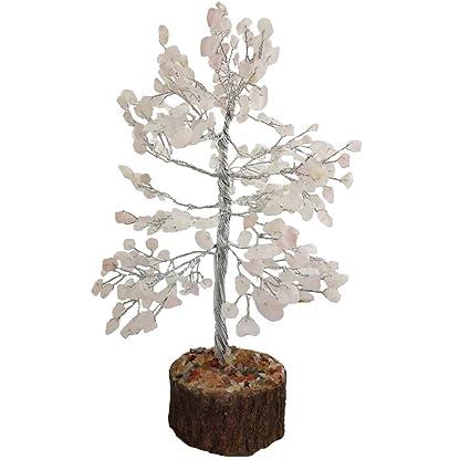 Amazon com: Divya Mantra Feng Shui Natural Rose Quartz Chakra