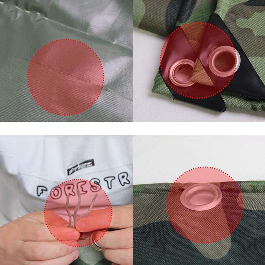 TDLX Thicken Thicken Thicken Tarnung wasserdicht Oxford Tuch Sonnenschutz Regenplane (größe   2  2m) B07JQJ7L3Z Zeltplanen Hohe Qualität und geringer Aufwand a12ad9