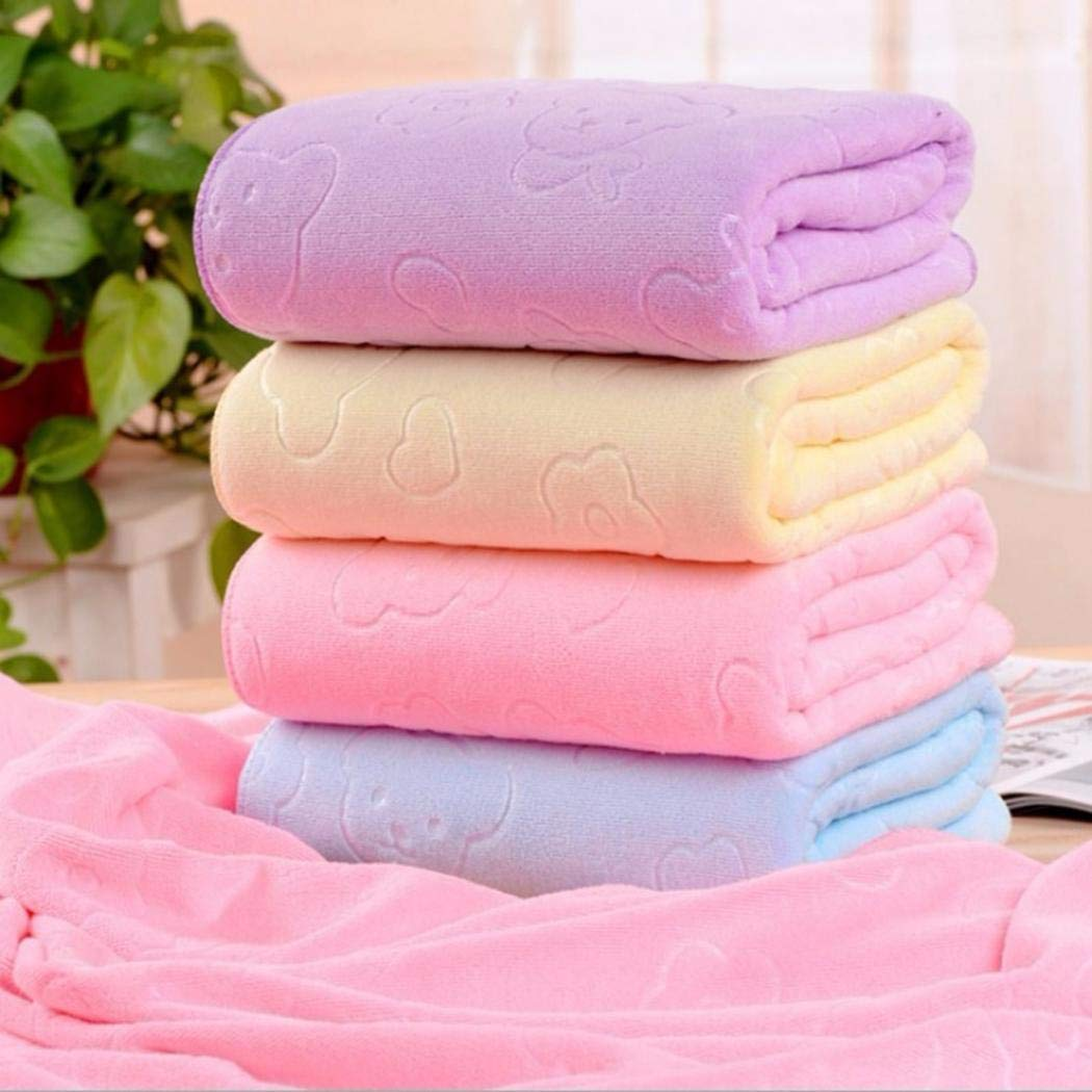 XioNiu New Unisex Superfine Fiber Big Bath Towels Quick Drying Beach Towel Bath Towels