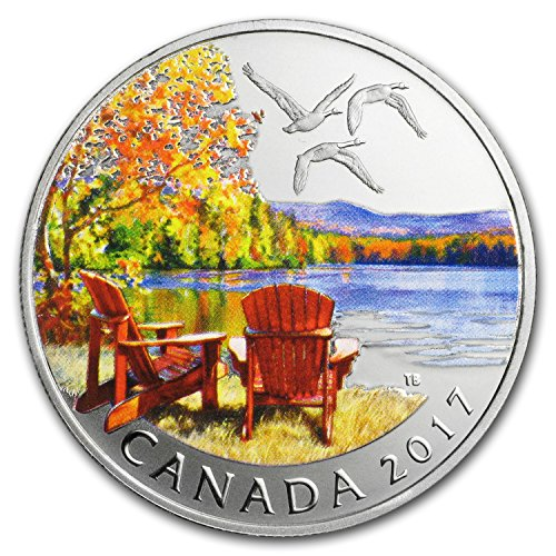 2017 CA Canada 1/2 oz Silver $10 Autumn's Palette 1/2 OZ Brilliant Uncirculated