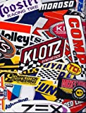 Racing Decal Sticker 25 Piece Assortment Pack By